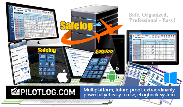 Safelog - The World's Most Trusted Pilot Logbook System